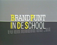 Brandpunt in de School