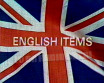 English Items